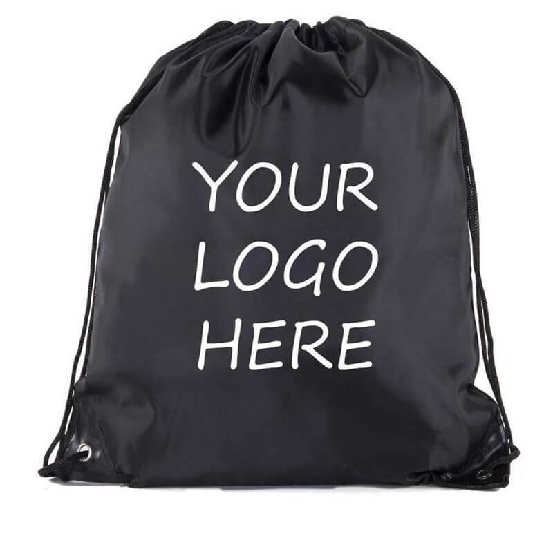 drawstring custom bags